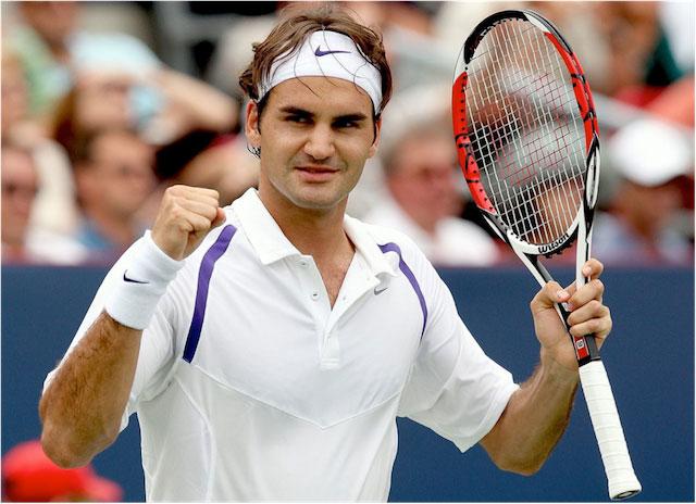 was sagen tennisspieler über federer